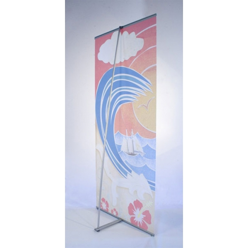Impression banner stand l2 for Impression stand