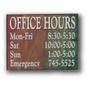 Optima Office Sign 8 x 10