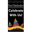 Church Celebrate Holiday Boulevard Banner