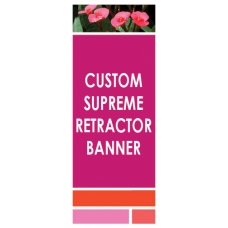 Custom Supreme Display Banner