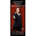 Welcome Display Banner