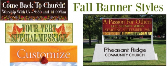 Fall Banners