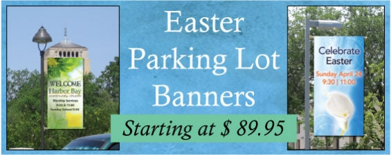 Easter Parking Lot