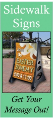 Easter Sidewalk Sign