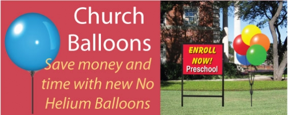 Church Balloons