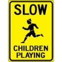Slow Children Playing Sign